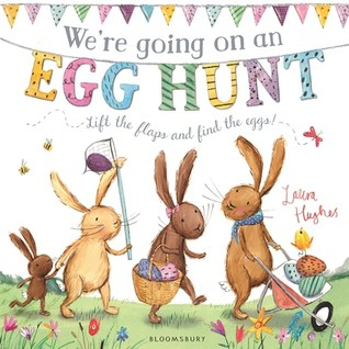 Looking for a good Easter themed book for your toddler's easter basket? Check out We're Going On An Egg Hunt -- a fun Easter twist on the popular We're Going On An Bear Hunt -- great easter book for babies and toddlers!