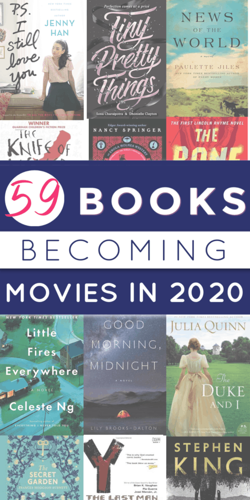 Best Sci Fi Books 2020.The Definitive Guide To All The Books Becoming Movies In 2020